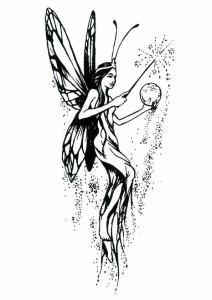 målarbok Fairies (6)