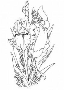 målarbok Fairies (8)
