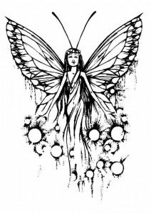 målarbok Fairies (9)
