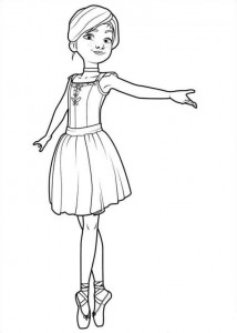coloring page Félicie