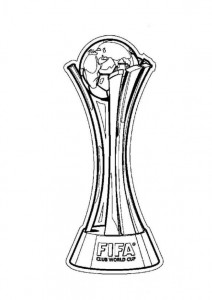 coloring page Fifa world cup teams