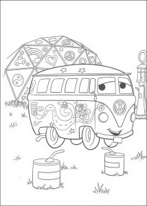 Fillmore coloring page