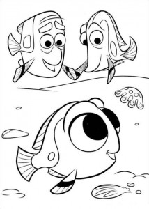 coloring page Finding Dory