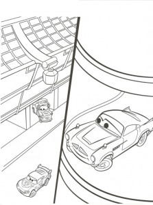coloring page Finn McMissle (2)