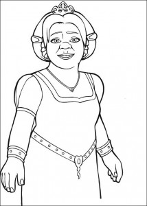 coloring page Fiona (3)