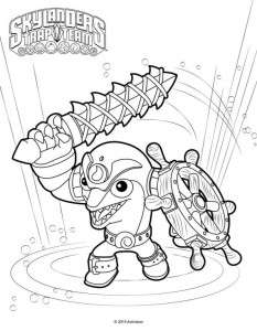 flip wreck coloring page