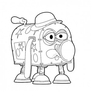 coloring page Flash and The Magic House (Magic House) (9)