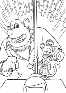 coloring page Flushed Away (3)