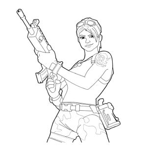 coloring page Fortnite (2)