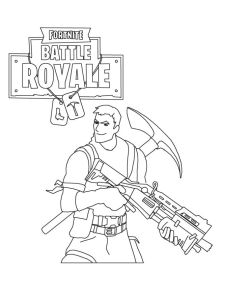 coloring page Fortnite (3)