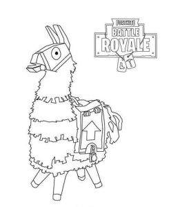 coloring page Fortnite (4)