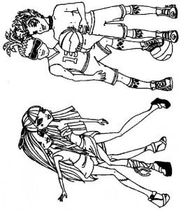 coloring page Frankie, Cleo, Deuce, Holt
