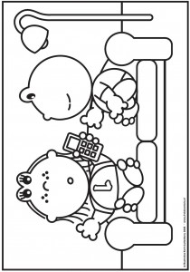coloring page Frokkie and Lola (8)