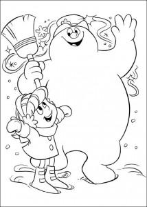 målarbok Frosty (5)