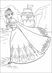 coloring page Frozen (10)