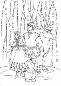 coloring page Frozen (12)