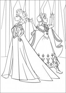 coloring page Frozen (15)