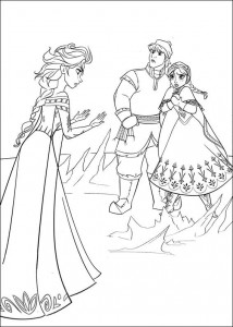 coloring page Frozen (16)