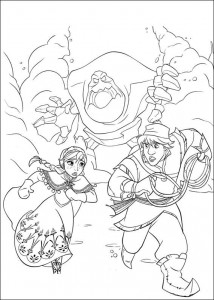coloring page Frozen (17)