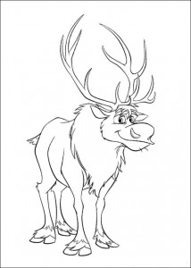 coloring page Frozen (20)