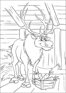 coloring page Frozen (21)