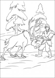 coloring page Frozen (28)