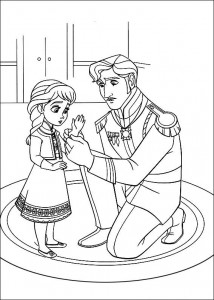 coloring page Frozen (3)
