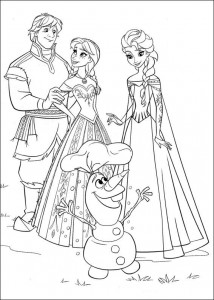 coloring page Frozen (34)