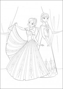 coloring page Frozen (5)