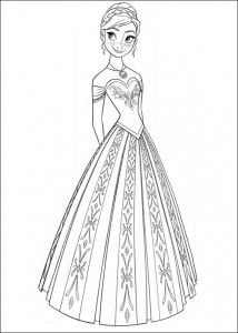 coloring page Frozen (8)