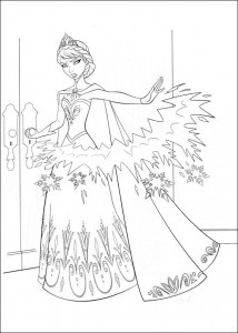coloring page Frozen (9)