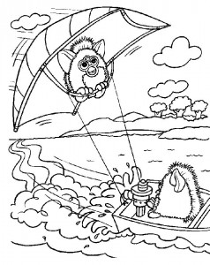 coloring page Furbie (13)