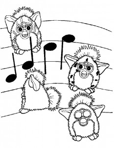 coloring page Furbie (14)