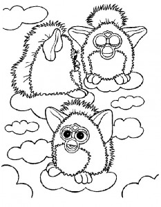 coloring page Furbie (16)