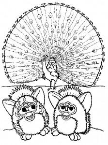 Disegno da colorare Furbie (17)