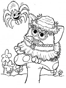 Disegno da colorare Furbie (18)
