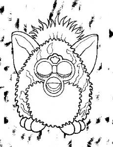 Disegno da colorare Furbie (19)