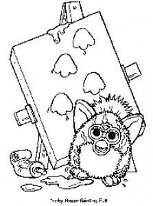 Disegno da colorare Furbie (20)