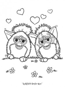 coloring page Furbie (21)