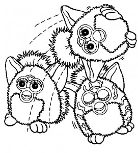 coloring page Furbie (22)
