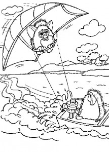 coloring page Furbie (23)
