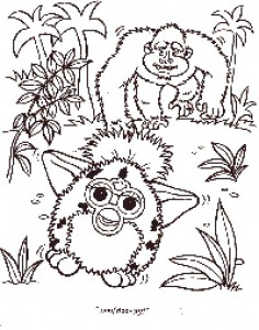 coloring page Furbie (24)