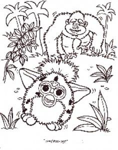 Disegno da colorare Furbie (24)