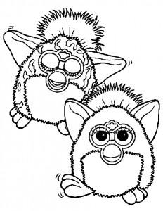 Disegno da colorare Furbie (26)