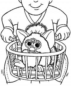 Disegno da colorare Furbie (27)