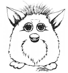 coloring page Furbie (28)