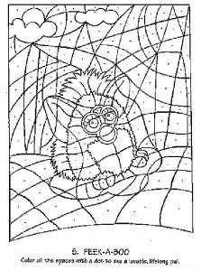 Disegno da colorare Furbie (5)