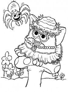 coloring page Furbie (8)