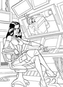 kleurplaat G.I. Joe (11)