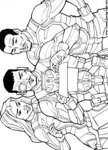 kleurplaat G.I. Joe (12)